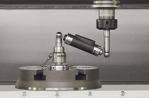 The Renishaw QC20-W wireless ballbar for machine tool performance diagnosis