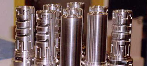Air Bearings machined spindles