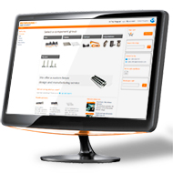 ecommerce naviagtion for fixtures