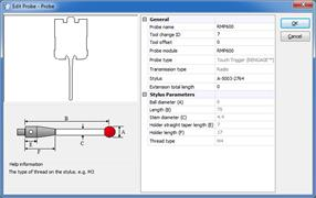 Create and edit probe configurations: Active Editor Pro
