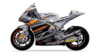 Renishaw sponsored TransFIORmers Moto2 motorcycle
