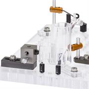 Fixturing example on a multi-window plate