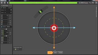 Capture 2.1 - laser target for easy system alignment