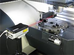 Laser calibration using XL-80 laser interferometer system