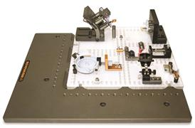 Part set up on quick load corner vision fixture