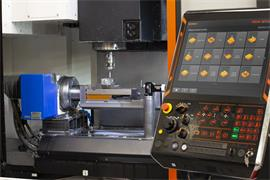 OMP60 with OTS AA on Mazak CNC