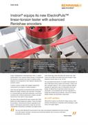 Case study:  Instron® equips its new ElectroPuls™ linear-torsion tester with advanced Renishaw encoders