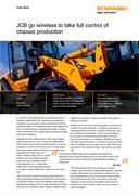 Case study:  JCB - JCB go wireless to take full control of chassis production