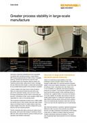 Case study:  ZBG GmbH - Greater process stability in large-scale manufacture