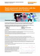 Application note:  Rapid polymorph identification with the RA802 Pharmaceutical Analyser