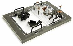 Interchangeable vision fixture set up